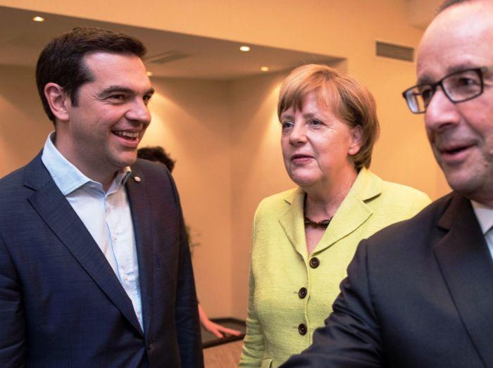Kritische Töne bei SYRIZA vor dem Dreiergipfel in Brüssel