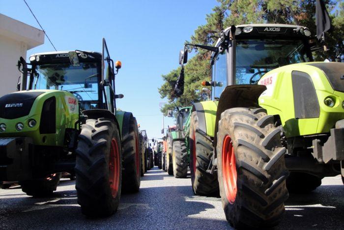 Bauernproteste in Nordgriechenland