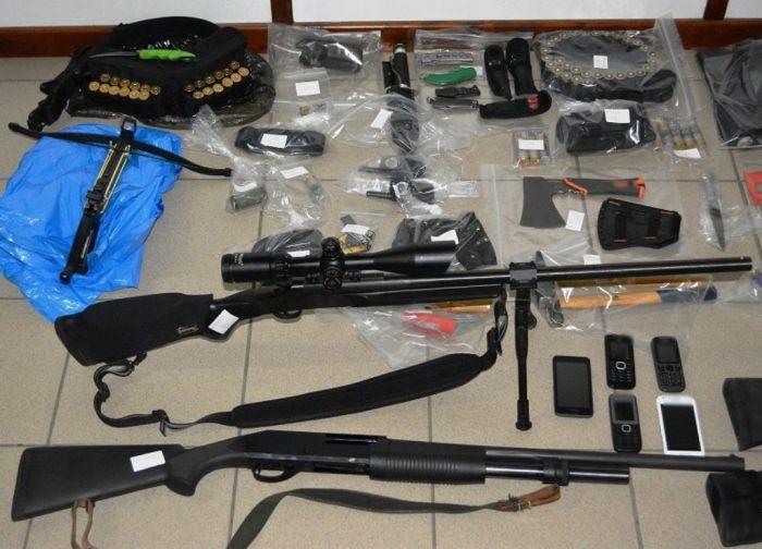 Fünf Verdächtige wegen Terrorverdachts in Kalamata festgenommen