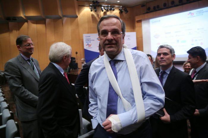 Oppositionschef Samaras ist offen für nationale Verständigung