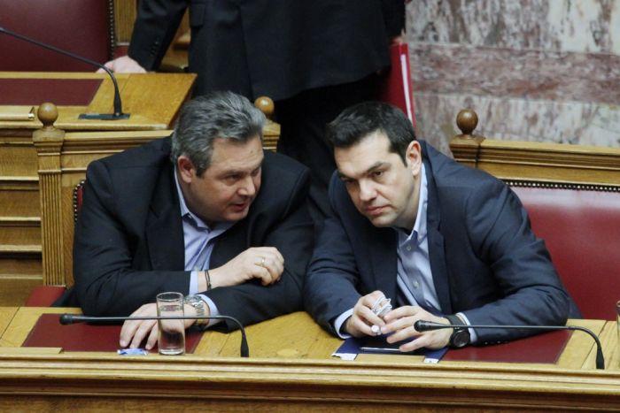 Meinungsumfragen bescheinigen Griechenlands Regierungsparteien Bestnoten