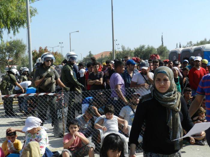 Anzahl der Flüchtlinge in Griechenland übersteigt halbe Million