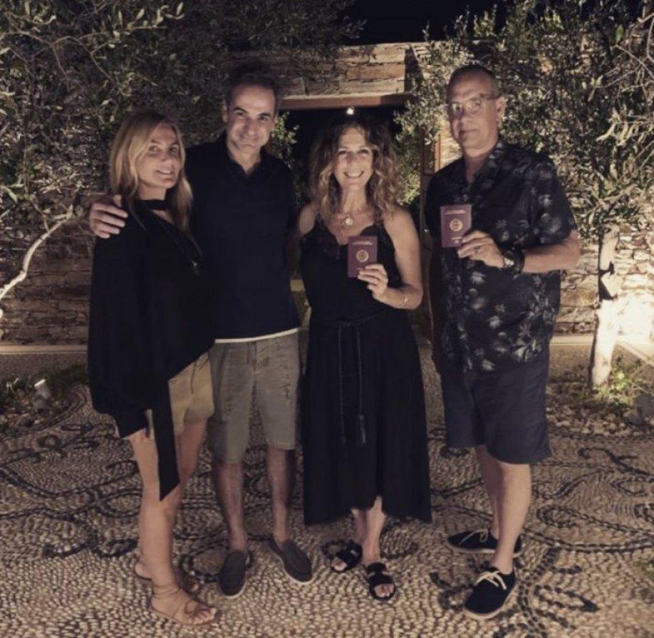 Tom Hanks Griechenland