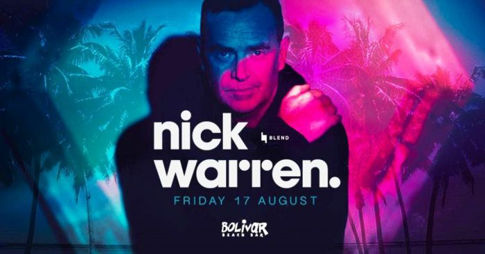 Nick Warren live in Athen