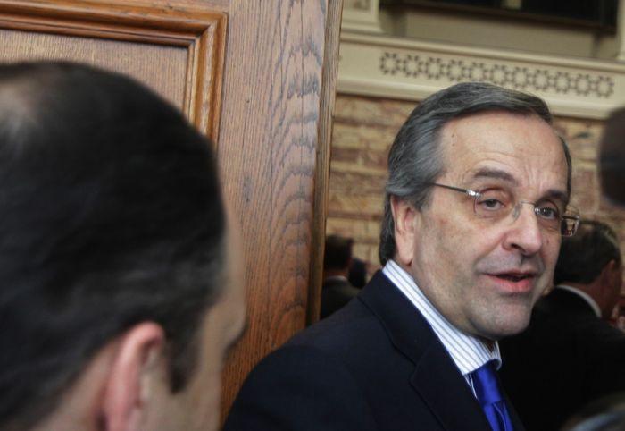 Führungsfrage spaltet Konservative in Griechenland