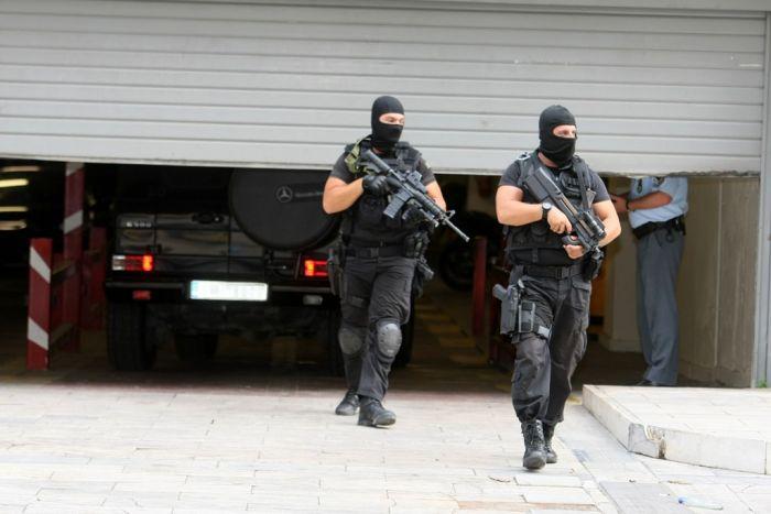 Terroristen und Terrorverdächtige treten in einen Hungerstreik