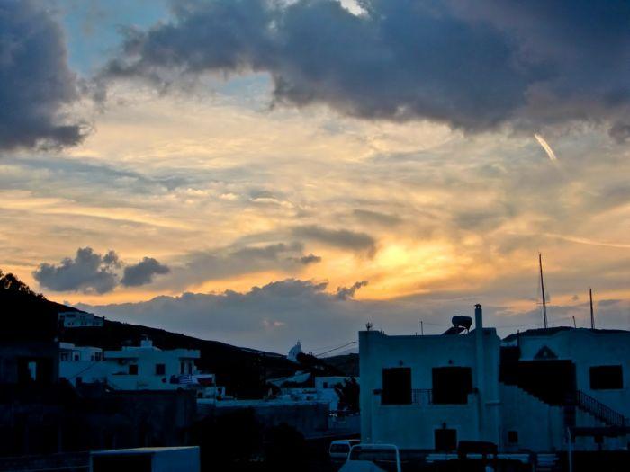 Regen und Gewitter über ganz Griechenland