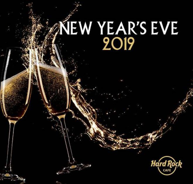 Neujahrsparty im Hard Rock Café