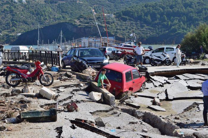 Unwetter: Insel Kefalonia zum Notstandsgebiet erklärt