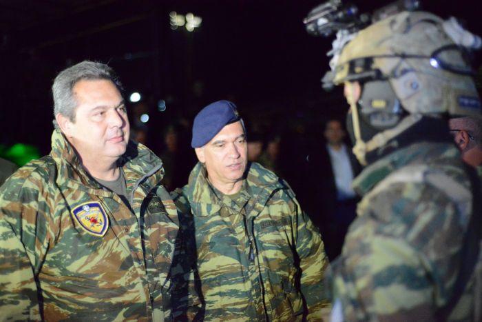 US-Verteidigungsminister zeigt griechischen Amtskollegen die kalte Schulter