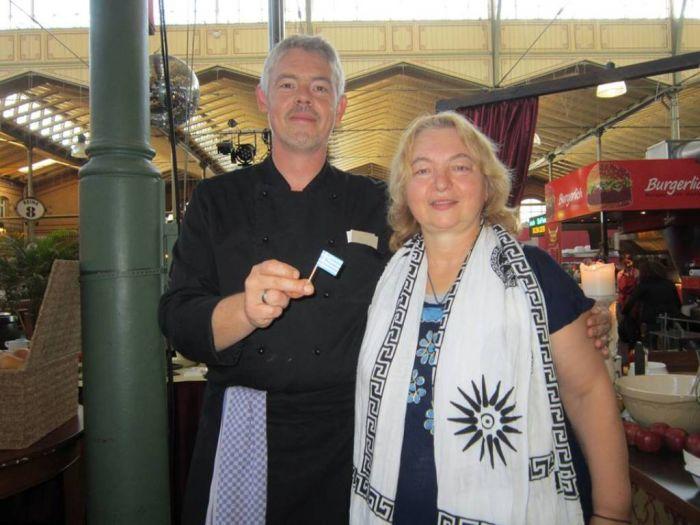 Griechenland-Brunch in der Berliner Arminiusmarkthalle