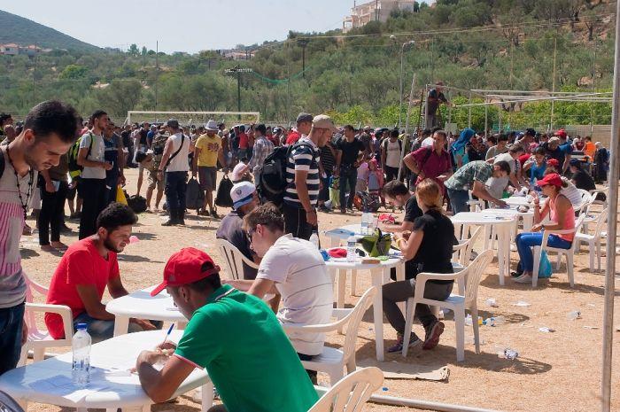 Flüchtlingsproblem verschärft sich in der griechischen Hauptstadt