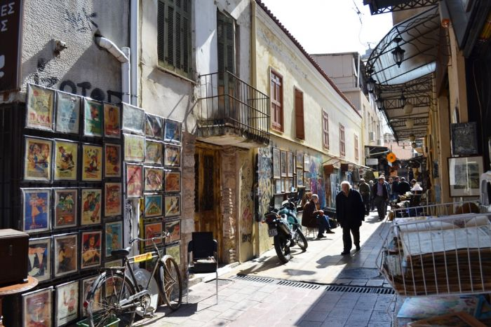 Griechenland - Nikos' rollender Laden