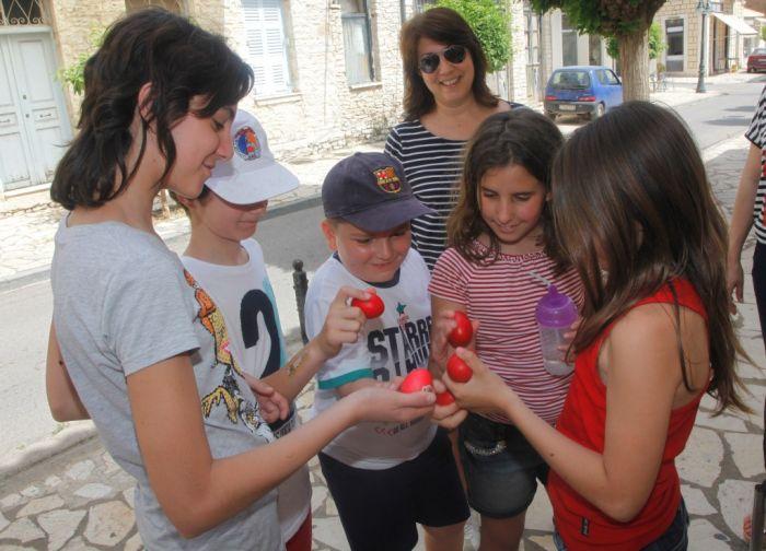 Der Mythos um das rote Osterei in Griechenland