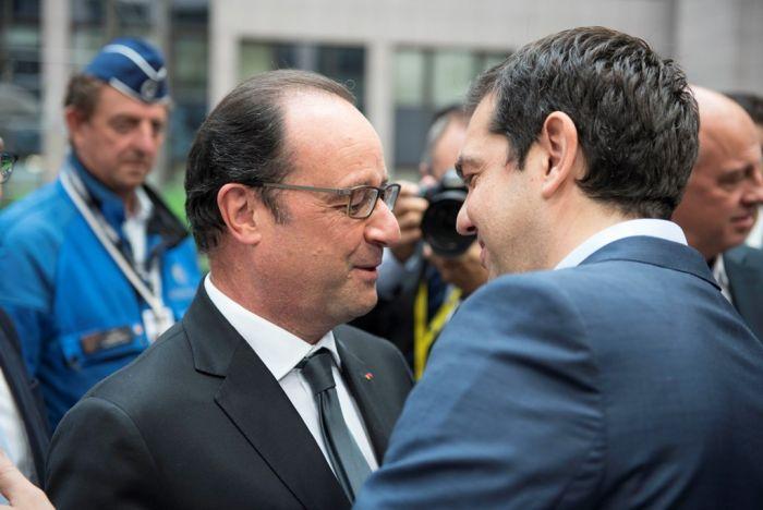 """Frankreichs Präsident Hollande kommt nach Athen """"um zu helfen"""""""