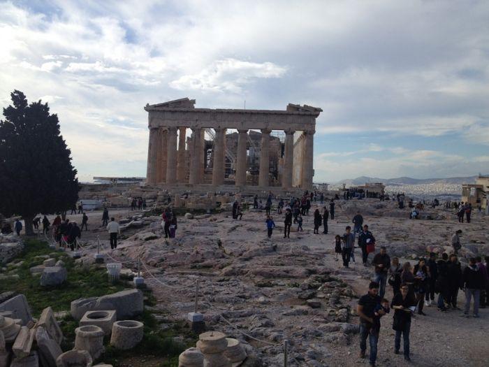 Unentschlossenes Hellas – mal Regen, mal Sonne