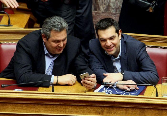 Griechenlands Kampf gegen humanitäre Krise beginnt im Parlament