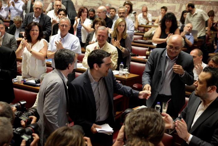 Politische Hitzewelle in Griechenland