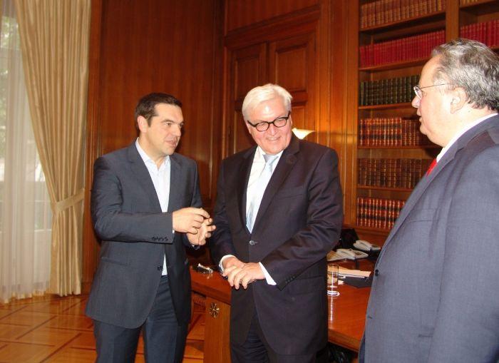 Steinmeier in Athen: Flüchtlingskrise im Mittelpunkt der Gespräche
