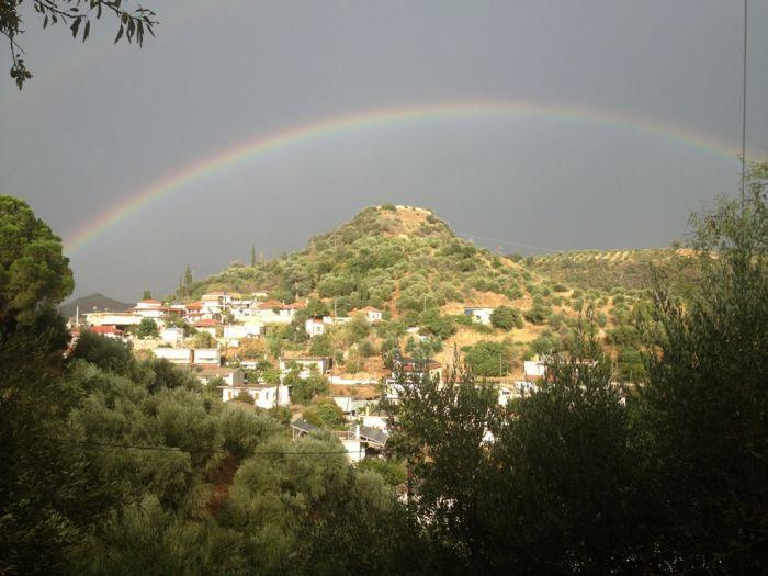 Das Wetter in Griechenland: Sonne, Wolken und etwas Regen