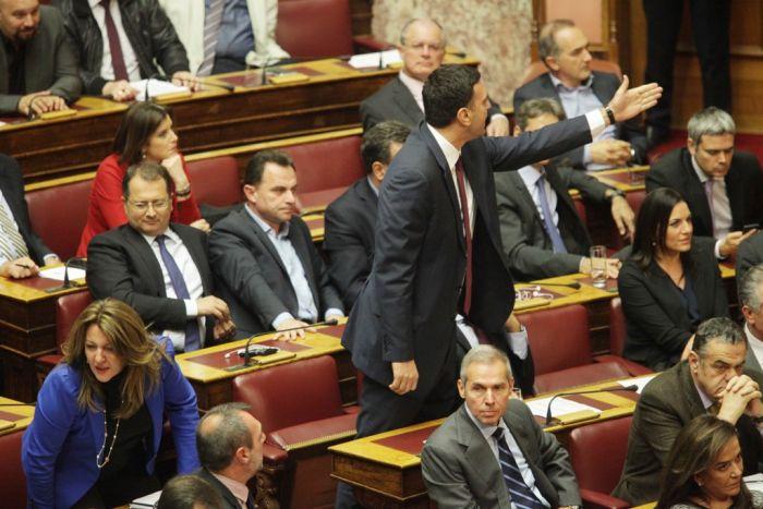 Griechenlands Parlamentarier verabschieden Multigesetz