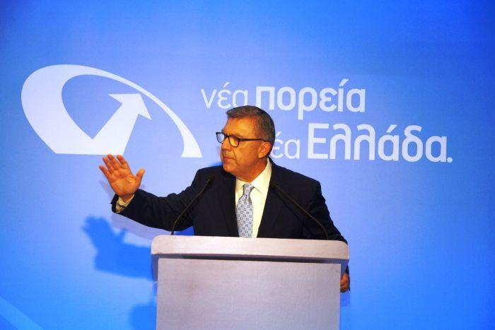 """Neue Partei vorgestellt: """"Neuer Kurs, neues Griechenland"""""""