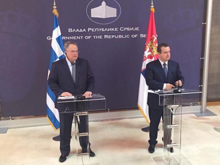 """Griechenlands Außenminister auf Balkantour: """"Jedes Problem hat eine Lösung"""""""