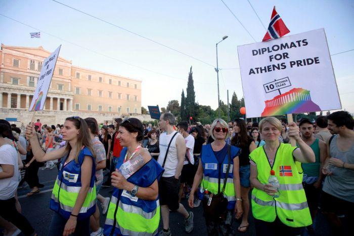 """""""Athens Pride 2015"""": Die Hauptstadt im Zeichen des Regenbogens"""