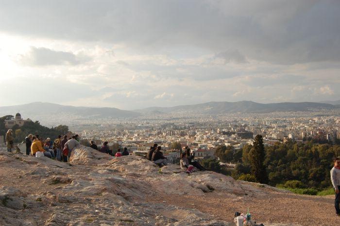 Das Wetter in Griechenland: wolkig-warm