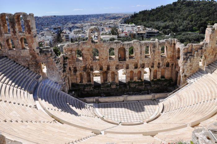 Gernstl in Griechenland
