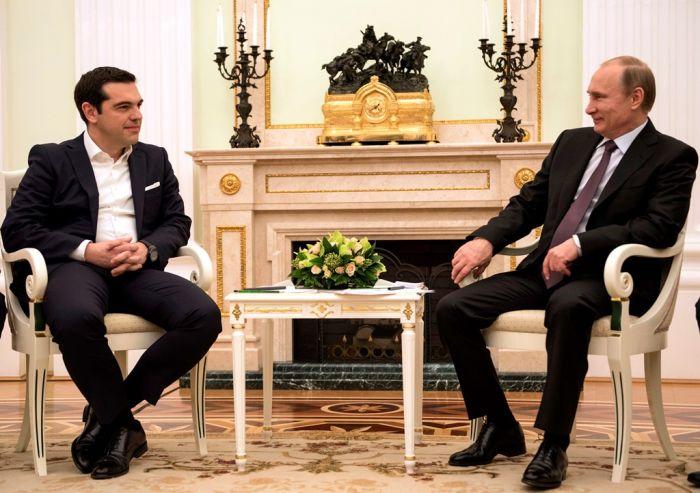 Griechenland beim Internationalen Wirtschaftsforum in Sankt Petersburg