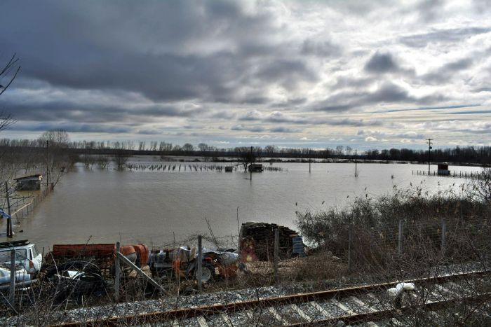 Erneut Überschwemmungen in Nordgriechenland