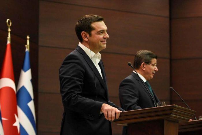 Tsipras in der Türkei: Eindämmung der Flüchtlingswelle stand im Mittelpunkt