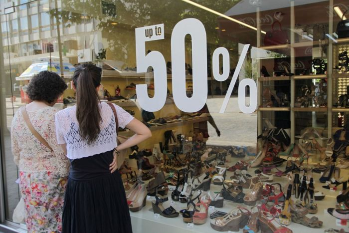In Griechenland beginnt am Montag der Sommerschlussverkauf
