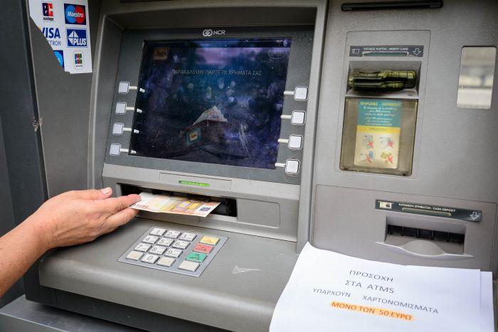 Im Juni flossen weitere 7,7 Mrd. Euro von Griechenlands Banken ab