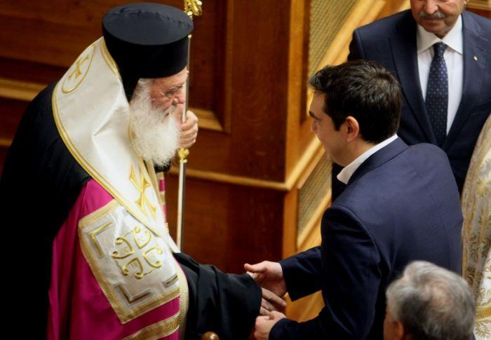 Annäherung zwischen Linksregierung und orthodoxer Landeskirche