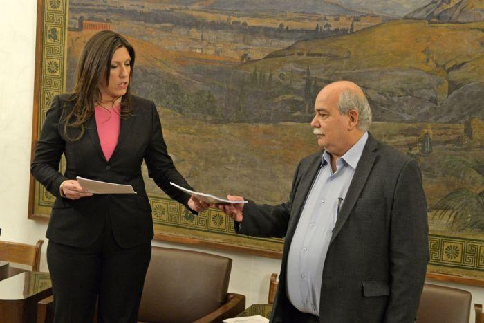 Nikos Voutsis ist neuer Präsident des griechischen Parlaments