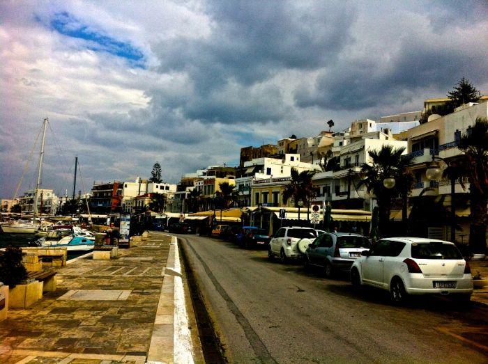 Schlechtwetterfront über Griechenland