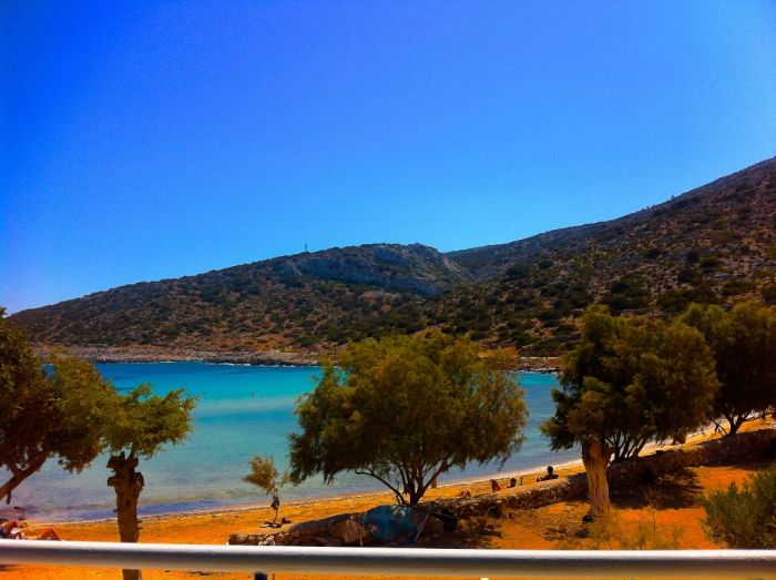 Klarer Himmel über Hellas