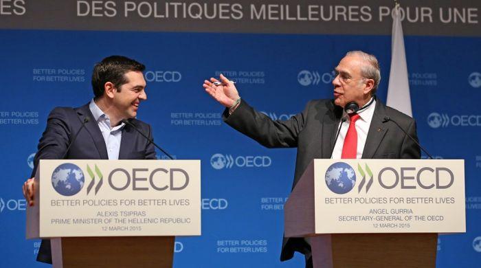 Griechenland intensiviert Kontakte mit der OECD und Brüssel