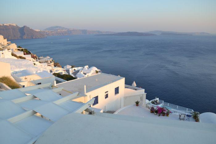 Griechischer Herbst bringt Sonnenschein und fallende Temperaturen